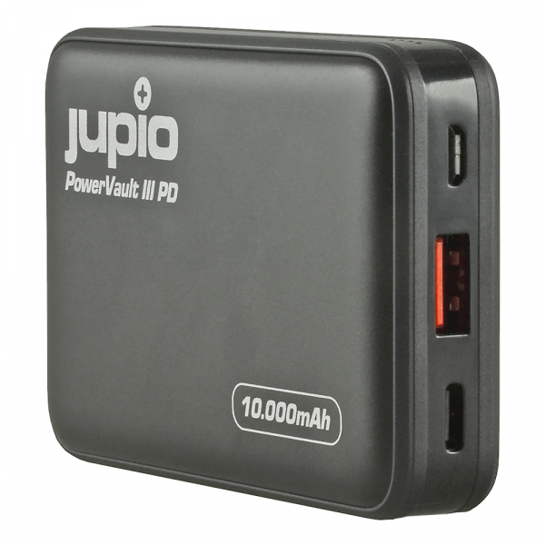Jupio PowerVault III 10000PD külső akkumulátor 04