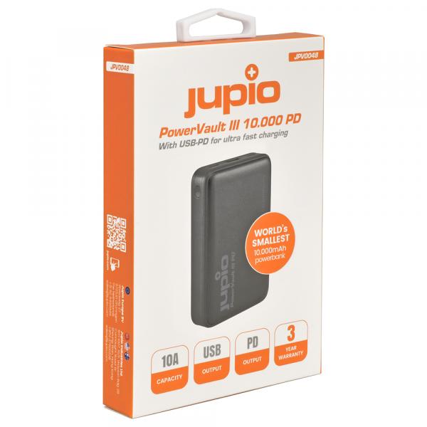Jupio PowerVault III 10000PD külső akkumulátor 05