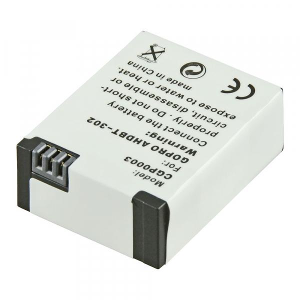 Jupio utángyártott-akkumulátor GoPro Hero 3+ AHDBT-302 akciókamerákhoz 03