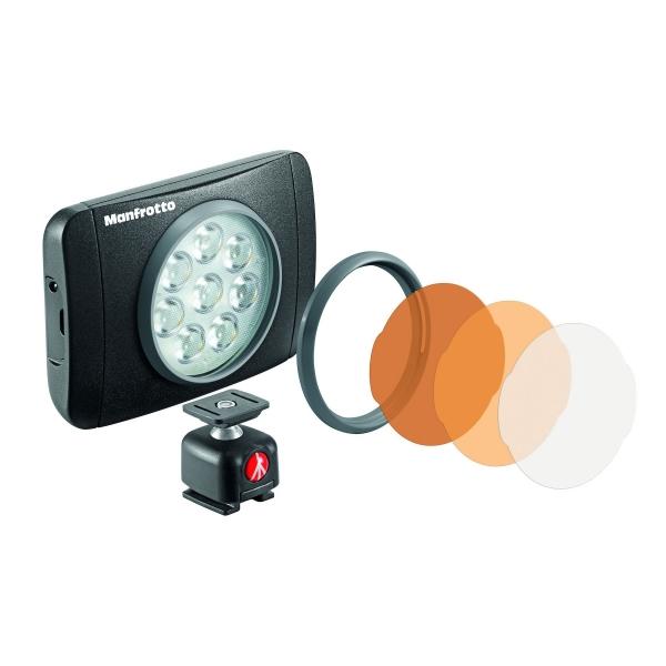 Manfrotto Lumimuse 8 LED lámpa és kiegészítők 03