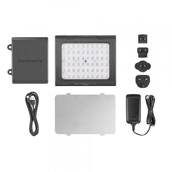 Manfrotto Lykos Led lámpa 2.0, 2in1 vízálló Bluetooth-szal 06