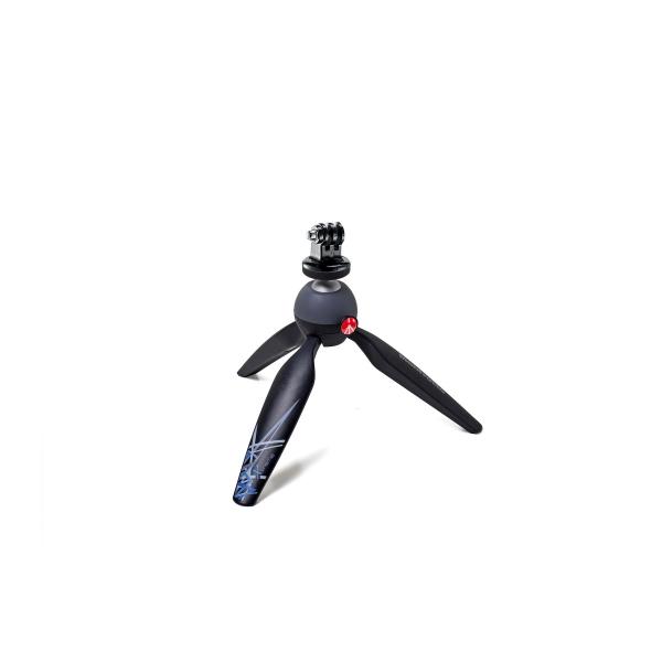 Manfrotto Pixi mini állvány GoPro adapterrel 03