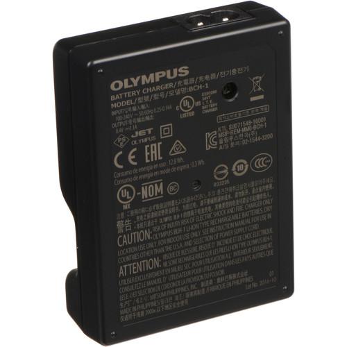 Olympus BCH-1 Li-Ion akkumulátor töltő BLH-1-hez 03