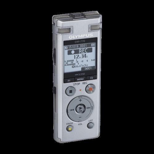 Olympus DM-720 diktafon + CS150 tokkal 05