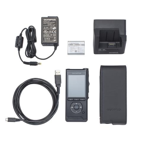 Olympus DS-9500 diktafon, prémium kit (INCL. ODMS R7, A517, CR21, KP30, CS151, LI-92B) 03