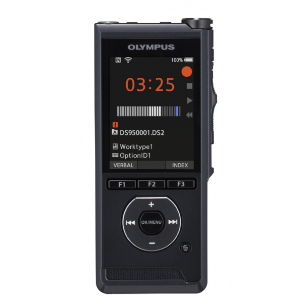 Olympus DS-9500 diktafon, prémium kit (INCL. ODMS R7, A517, CR21, KP30, CS151, LI-92B) 04