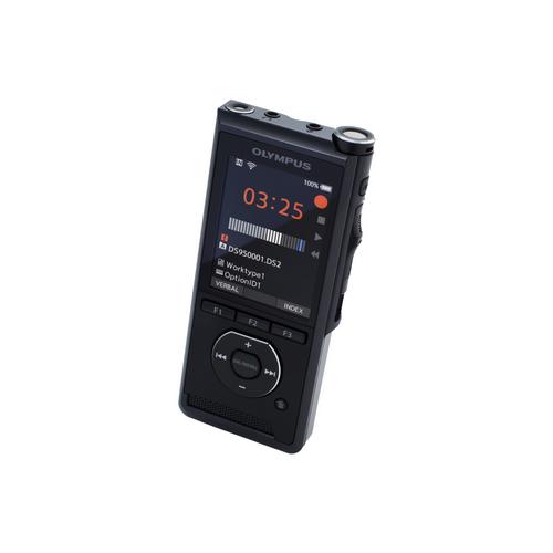 Olympus DS-9500 diktafon, prémium kit (INCL. ODMS R7, A517, CR21, KP30, CS151, LI-92B) 05