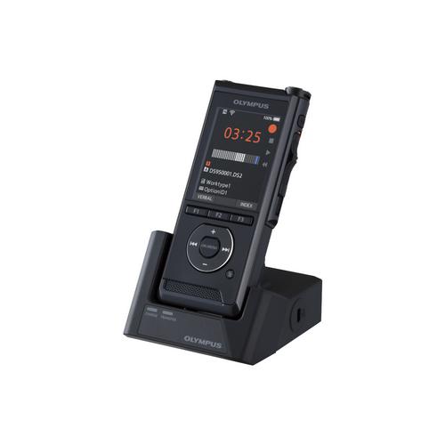 Olympus DS-9500 diktafon, prémium kit (INCL. ODMS R7, A517, CR21, KP30, CS151, LI-92B) 07