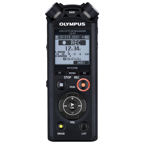 Olympus LS-P4 lineáris PCM hangrögzítő 03