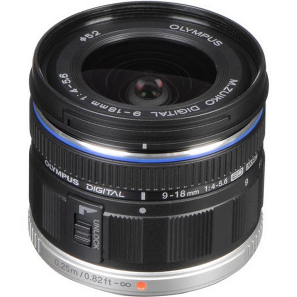 Olympus M.Zuiko 9-18 mm  1:4.0-5.6 objektív 05