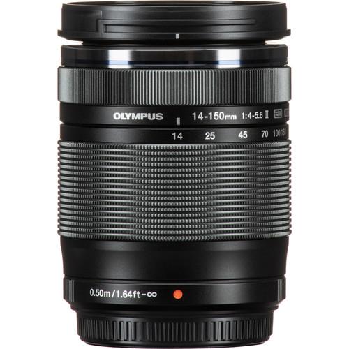 Olympus M.Zuiko Digital ED 14‑150mm F4‑5.6 II objektív 03