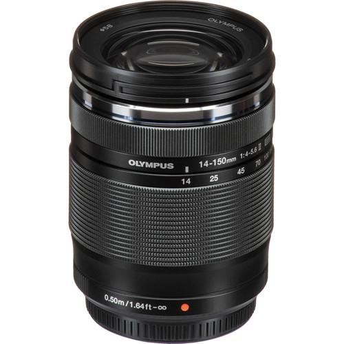 Olympus M.Zuiko Digital ED 14‑150mm F4‑5.6 II objektív 08