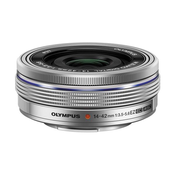 Olympus M.ZUIKO DIGITAL ED 14‑42mm 1:3.5‑5.6 EZ Pancake objektív 03
