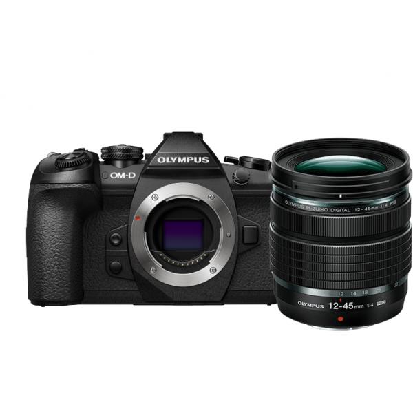 Olympus OM-D E-M1 Mark II digitális fényképezőgép  12-45MM PRO KIT, ED 12‑45mm 1:4.0 PRO objektívvel 04