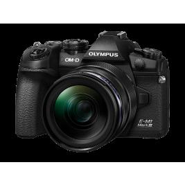 Olympus OM-D E-M1 Mark II digitális fényképezőgép  12-45MM PRO KIT, ED 12‑45mm 1:4.0 PRO objektívvel 03