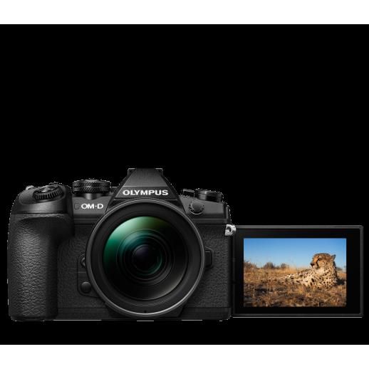 Olympus OM-D E-M1 Mark II digitális fényképezőgép  12-45MM PRO KIT, ED 12‑45mm 1:4.0 PRO objektívvel 06