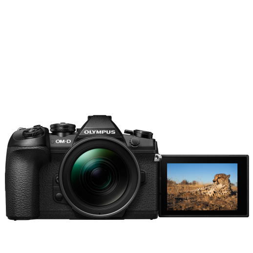 Olympus OM-D E-M1 Mark II digitális fényképezőgép 1240KIT kit, ED 12‑40mm PRO objektívvel 04