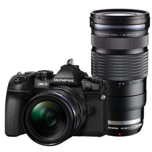 Olympus OM-D E-M1 Mark II digitális fényképezőgép PRO DUPLA kit, ED 12‑40mm PRO és ED 40‑150mm PRO objektívekkel 03