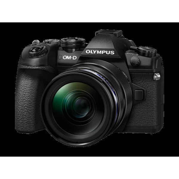Olympus OM-D E-M1 Mark II digitális fényképezőgép PRO DUPLA kit, ED 12‑40mm PRO és ED 40‑150mm PRO objektívekkel 04