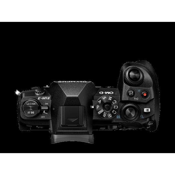 Olympus OM-D E-M1 Mark II digitális fényképezőgép PRO DUPLA kit, ED 12‑40mm PRO és ED 40‑150mm PRO objektívekkel 08