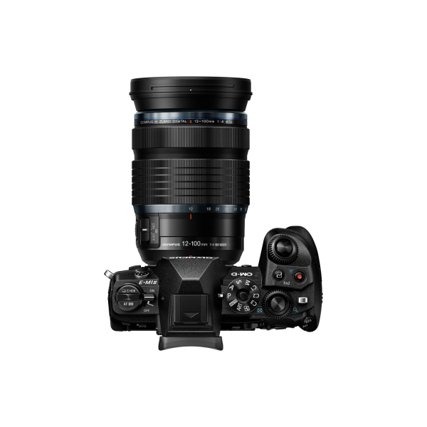 Olympus OM-D E-M1 Mark II digitális fényképezőgép PRO kit, ED 12‑100mm IS PRO objektívvel 04