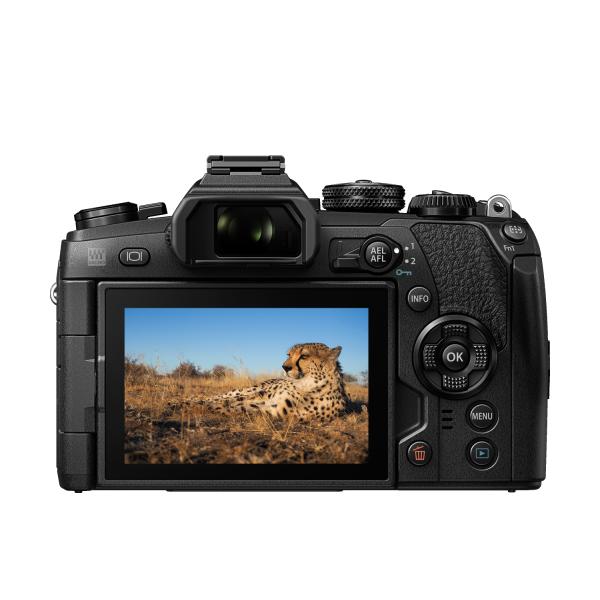 Olympus OM-D E-M1 Mark II digitális fényképezőgép váz 06