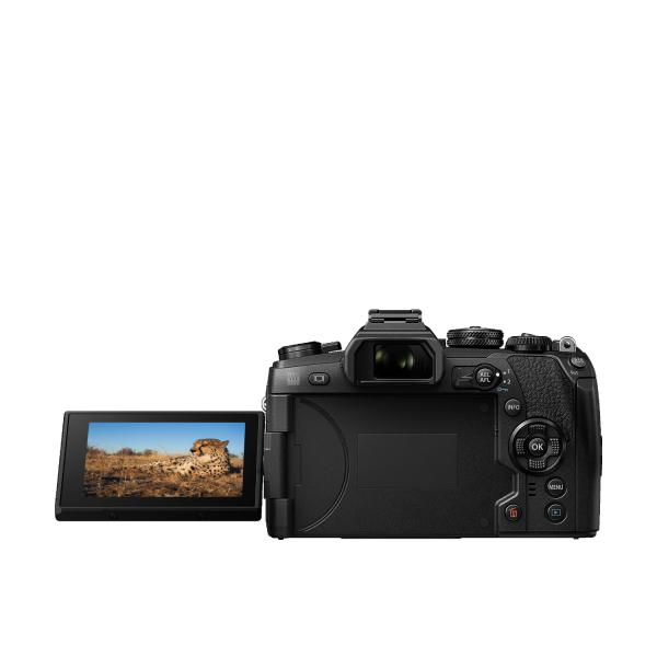 Olympus OM-D E-M1 Mark II digitális fényképezőgép váz 09