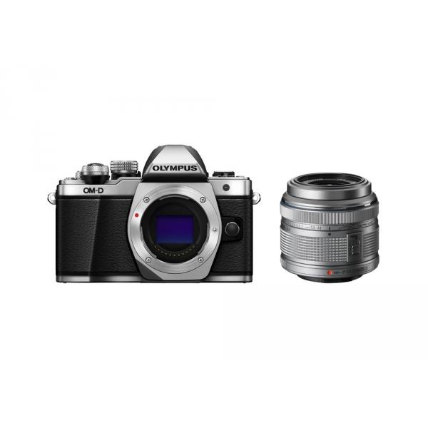 Olympus OM-D E-M10 Mark II digitális fényképezőgép kit, M.ZUIKO DIGITAL 14‑42mm II R objektívvel 03