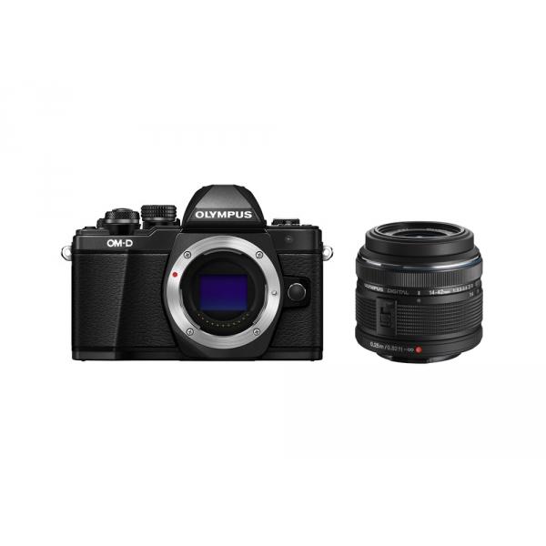 Olympus OM-D E-M10 Mark II digitális fényképezőgép kit, M.ZUIKO DIGITAL 14‑42mm II R objektívvel 10