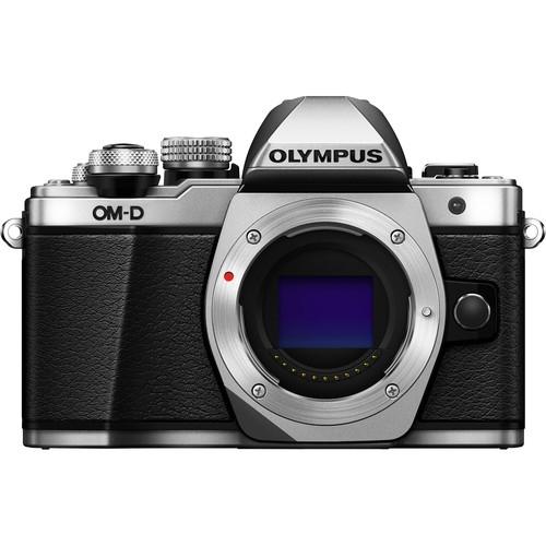 Olympus OM-D E-M10 Mark II digitális fényképezőgép kit, M.ZUIKO DIGITAL 14‑42mm II R objektívvel 04