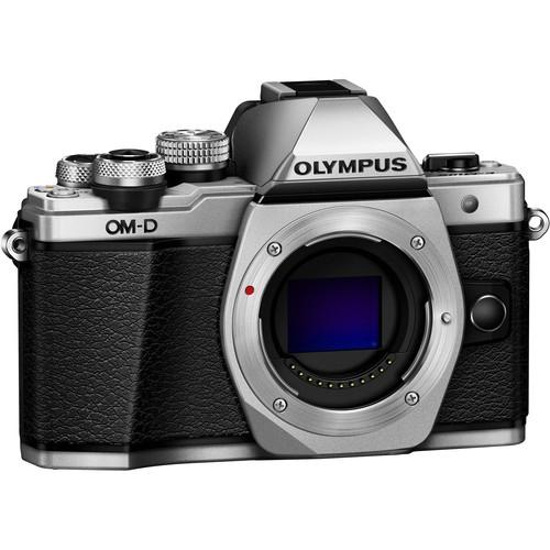 Olympus OM-D E-M10 Mark II digitális fényképezőgép kit, M.ZUIKO DIGITAL 14‑42mm II R objektívvel 05