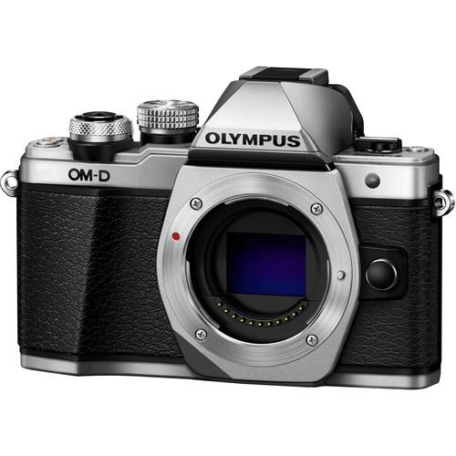 Olympus OM-D E-M10 Mark II digitális fényképezőgép kit, M.ZUIKO DIGITAL 14‑42mm II R objektívvel 06