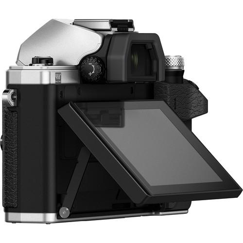 Olympus OM-D E-M10 Mark II digitális fényképezőgép kit, M.ZUIKO DIGITAL 14‑42mm II R objektívvel 09