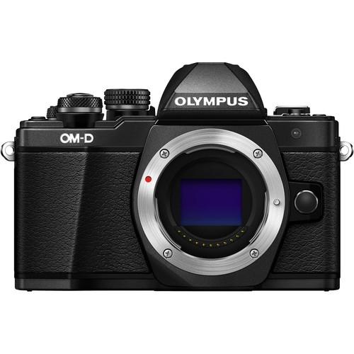 Olympus OM-D E-M10 Mark II digitális fényképezőgép kit, M.ZUIKO DIGITAL 14‑42mm II R objektívvel 11
