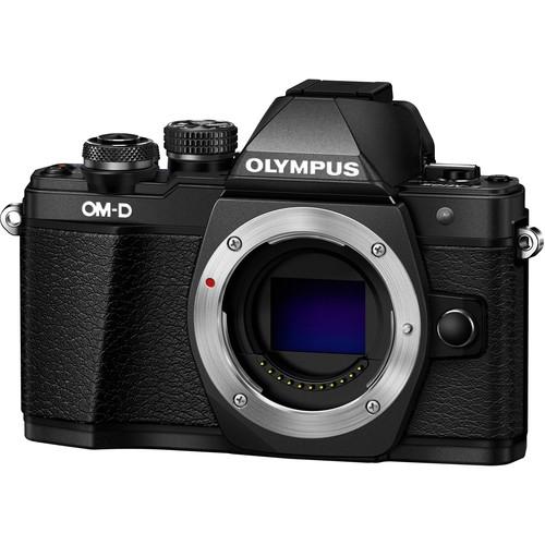 Olympus OM-D E-M10 Mark II digitális fényképezőgép kit, M.ZUIKO DIGITAL 14‑42mm II R objektívvel 12