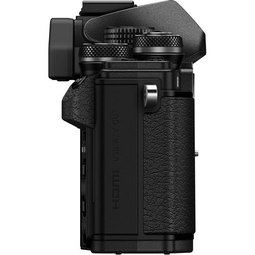 Olympus OM-D E-M10 Mark II digitális fényképezőgép kit, M.ZUIKO DIGITAL 14‑42mm II R objektívvel 14