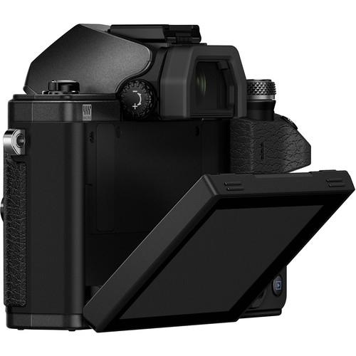 Olympus OM-D E-M10 Mark II digitális fényképezőgép kit, M.ZUIKO DIGITAL 14‑42mm II R objektívvel 16