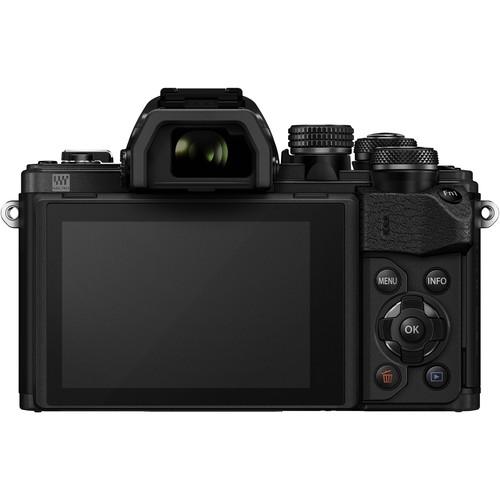 Olympus OM-D E-M10 Mark II digitális fényképezőgép kit, M.ZUIKO DIGITAL 14‑42mm II R objektívvel 17