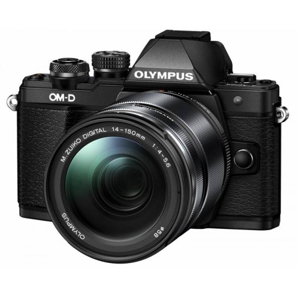 Olympus OM-D E-M10 Mark II digitális fényképezőgép kit, M.ZUIKO DIGITAL ED 14‑150mm II objektívvel 08