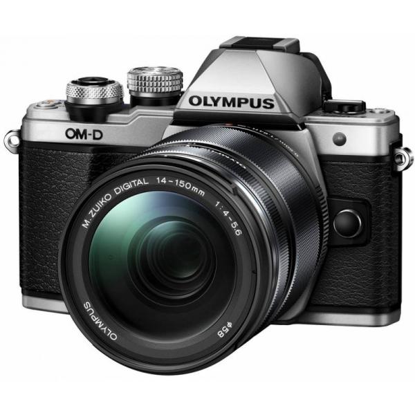 Olympus OM-D E-M10 Mark II digitális fényképezőgép kit, M.ZUIKO DIGITAL ED 14‑150mm II objektívvel 03