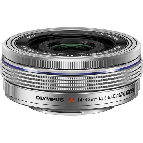 Olympus OM-D E-M10 Mark II digitális fényképezőgép kit, M.ZUIKO DIGITAL ED 14‑42mm EZ Pancake objektívvel 19