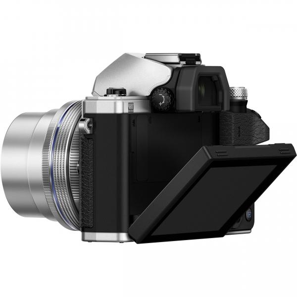 Olympus OM-D E-M10 Mark II digitális fényképezőgép kit, M.ZUIKO DIGITAL ED 14‑42mm EZ Pancake objektívvel 12