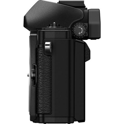 Olympus OM-D E-M10 Mark II digitális fényképezőgép kit, M.ZUIKO DIGITAL ED 14‑42mm EZ Pancake objektívvel 18