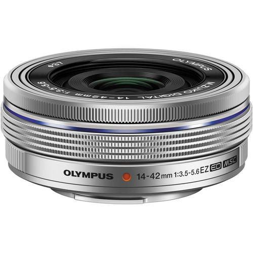 Olympus OM-D E-M10 Mark II Pancake Double Zoom Kit, 14‑42mm EZ Pancake és 40‑150mm R objektívekkel 21