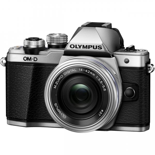 Olympus OM-D E-M10 Mark II Pancake Double Zoom Kit, 14‑42mm EZ Pancake és 40‑150mm R objektívekkel 04