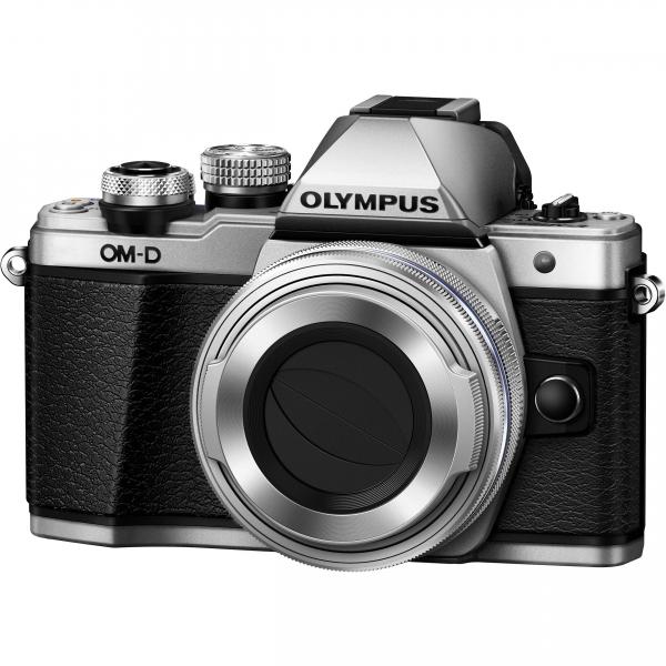 Olympus OM-D E-M10 Mark II Pancake Double Zoom Kit, 14‑42mm EZ Pancake és 40‑150mm R objektívekkel 06