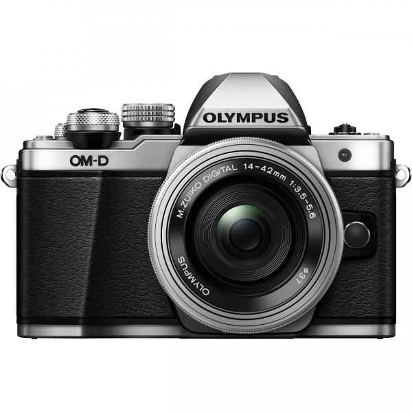 Olympus OM-D E-M10 Mark II Pancake Double Zoom Kit, 14‑42mm EZ Pancake és 40‑150mm R objektívekkel 07