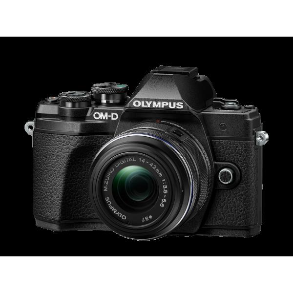Olympus OM-D E-M10 Mark III 1442 KIT, M.ZUIKO DIGITAL 14‑42mm 1:3.5‑5.6 II R objektívvel 03