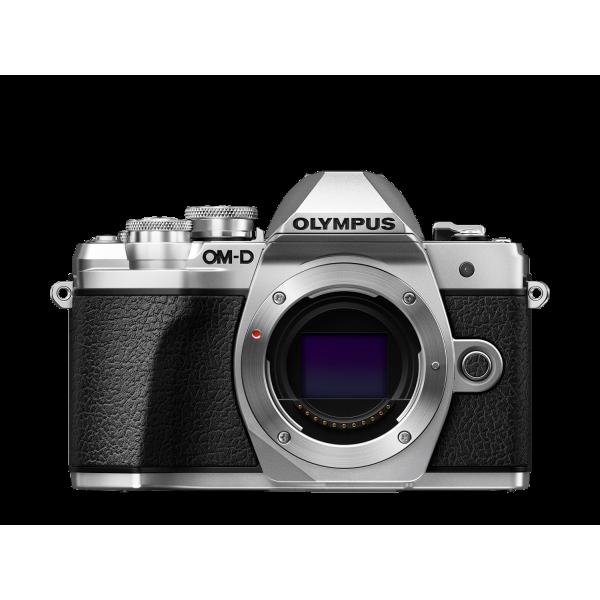 Olympus OM-D E-M10 Mark III digitális fényképezőgép DZK kit, 14‑42mm II R és ED 40‑150mm R objektívekkel 06
