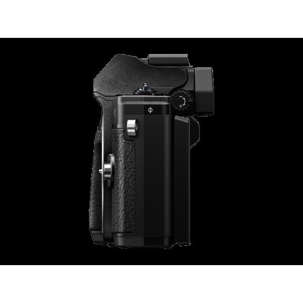 Olympus OM-D E-M10 Mark III digitális fényképezőgép DZK kit, 14‑42mm II R és ED 40‑150mm R objektívekkel 12